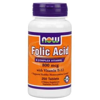 Acido Folico Now