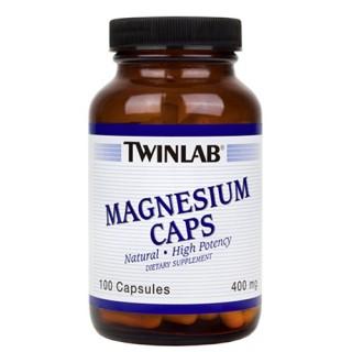 Magnesio Twinlab 400mg - 100Caps