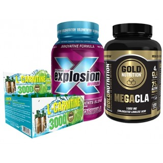 Pack adelgazamiento woman goldnutrition