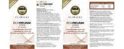 Etiqueta original da embalagem de Ecoreuma Ativo Goldnutrition Clinical (Reumaplus)