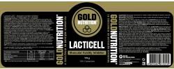 Etiqueta original da embalagem de Lacticell Goldnutrition