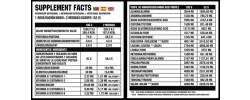 Etiqueta original da embalagem de Total Whey Proteina 2Kg GoldNutrition