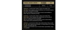 Etiqueta original da embalagem de L-Carnitina Goldnutrition