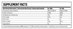 Etiqueta original da embalagem de Isolate CFM Hypertrophy
