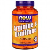 Arginina y Ornitina Now