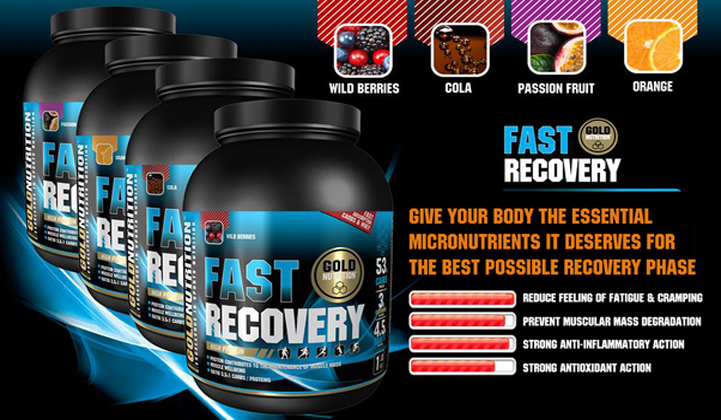 Fast Recovery de GoldNutrition